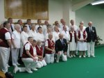 The indoor club celebrated 25th anniversary with a match against a mixed Oxford county team